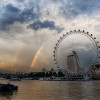 Фото: Rainbow over the London Eye (Trey Ratcliff)
