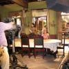 "На съёмках сериала ""Los Plateados"" в Estudios Churubusco, Мехико. Фото: Robin Nystrom"