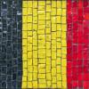 Флаг Германии из мозаики