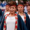 Японский фестиваль sasebo yosakoi